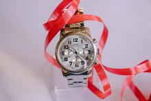Load image into Gallery viewer, TCM Automatic Watch for Men | Silver-tone Stainless Steel Chronograph