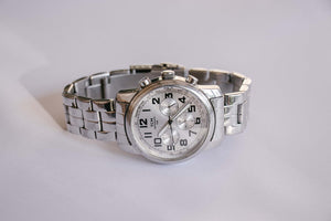 TCM Automatic Watch for Men | Silver-tone Stainless Steel Chronograph