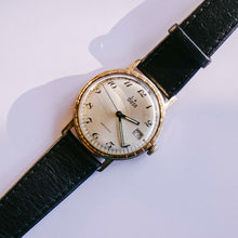 Load image into Gallery viewer, Diese Gold-tone Mechanical Date Watch | Vintage Men's Wristwatch