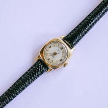 Load image into Gallery viewer, Vintage ZentRa Square-Dial Watch | Art Deco Inspired Gold-tone Watch