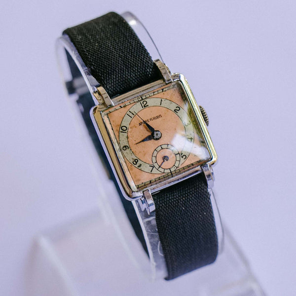 Ancre 15 Rubis Mechanical Watch | 1950s Vintage Military Wristwatch
