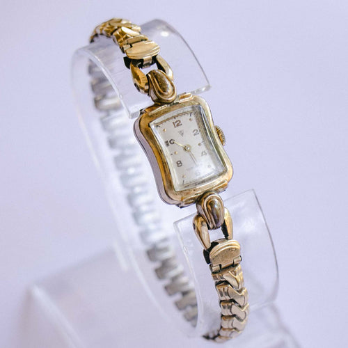 Vintage Swiss Gold-plated Ladies Watch | Best Vintage Dress Watches