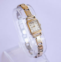 Load image into Gallery viewer, Ormo Incabloc Gold-tone Ladies Watch | Square Vintage Dress Watch
