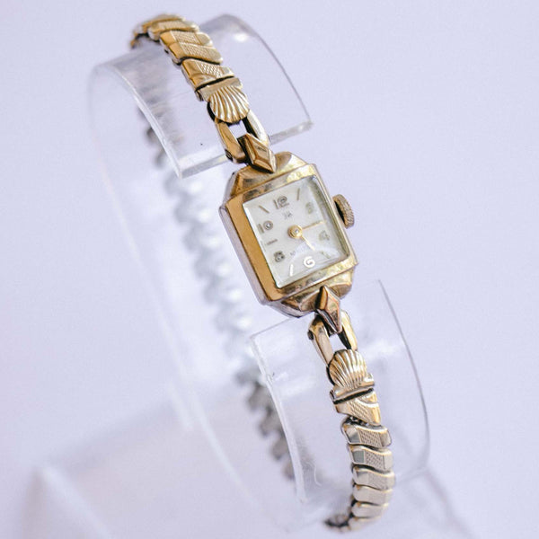 Vintage Rolled Gold 10 Rubis Mechanical Watch | Ladies Dress Watch