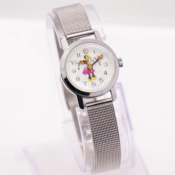 RARE Vintage Minnie Mouse Bradley Mechanical Watch for Women