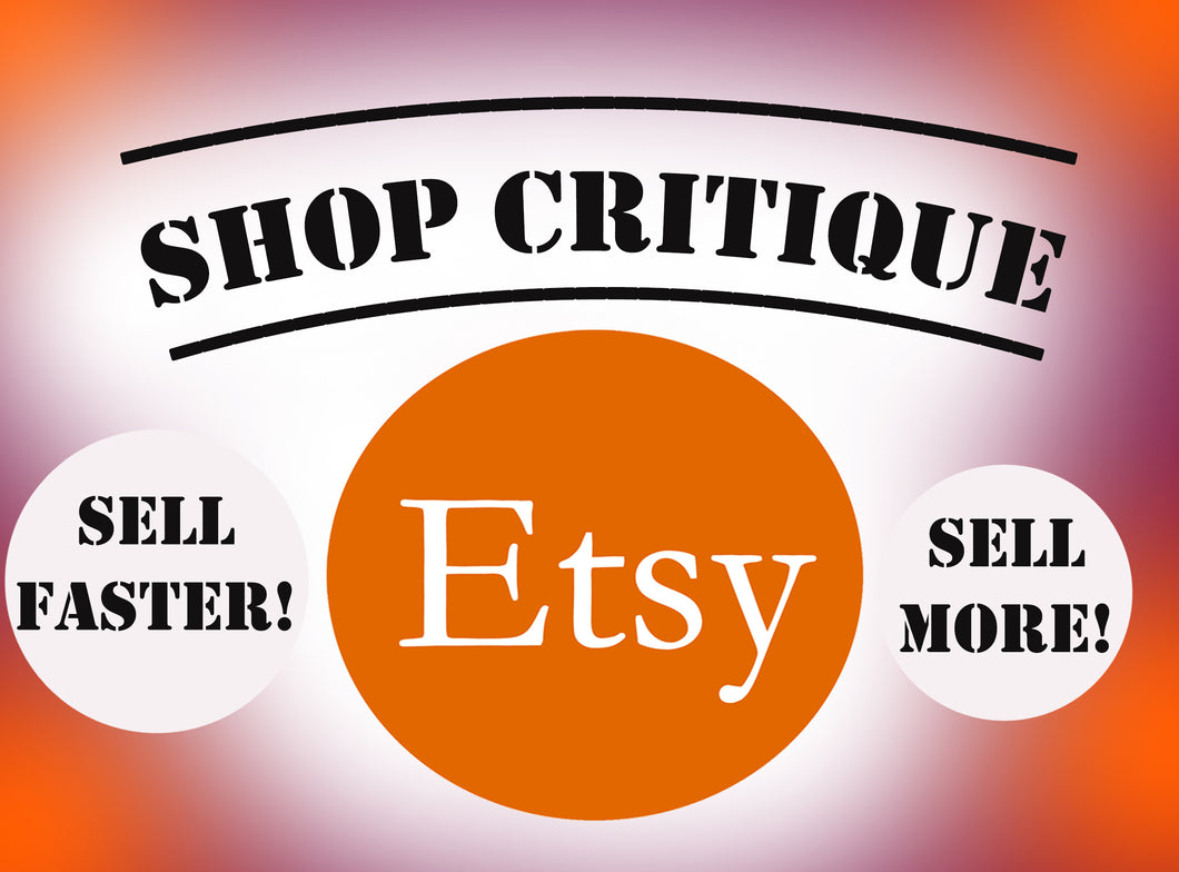 Etsy Shop Critique and Review | Improve And Rank Your Etsy Shop - Vintage Radar
