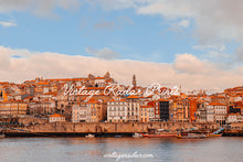 Load image into Gallery viewer, Colorful Porto Landscape Digital Print | Portugal Travel Wall Art - Vintage Radar