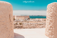 Ocean View Digital Print | Desert Landscape View | Printable Art - Vintage Radar