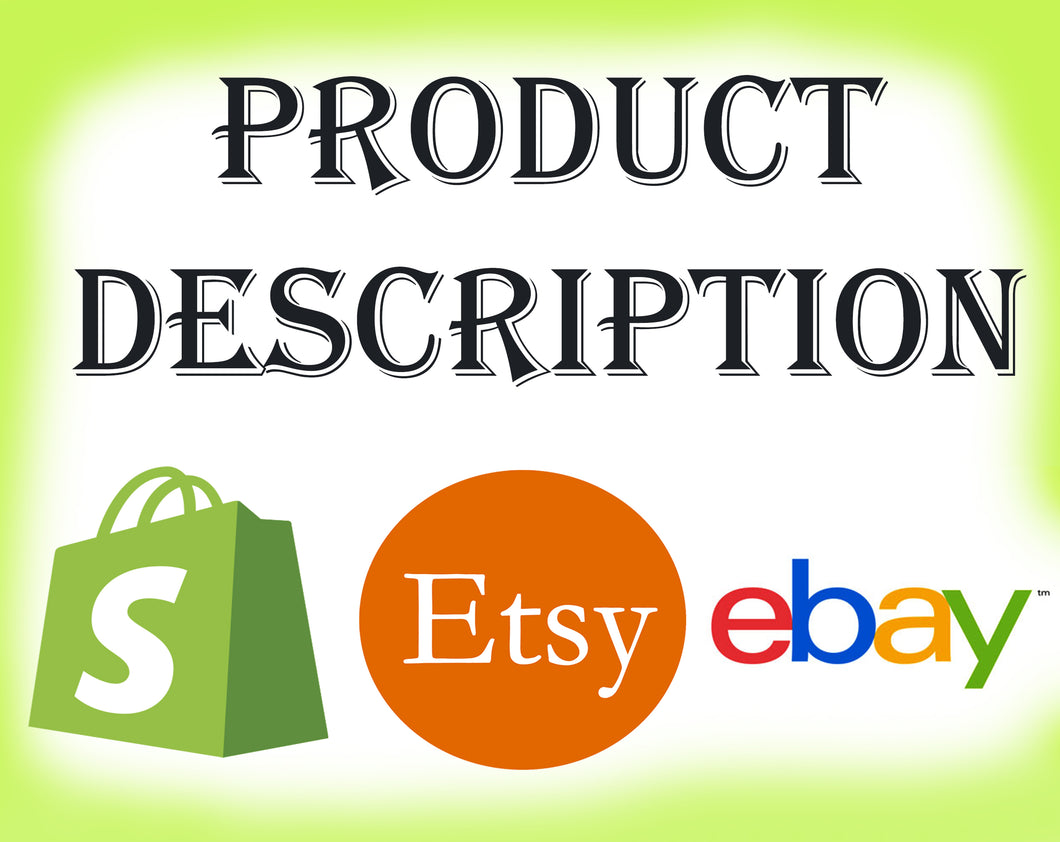 Etsy Product Description Service | Etsy Shop SEO | Etsy Seller - Vintage Radar