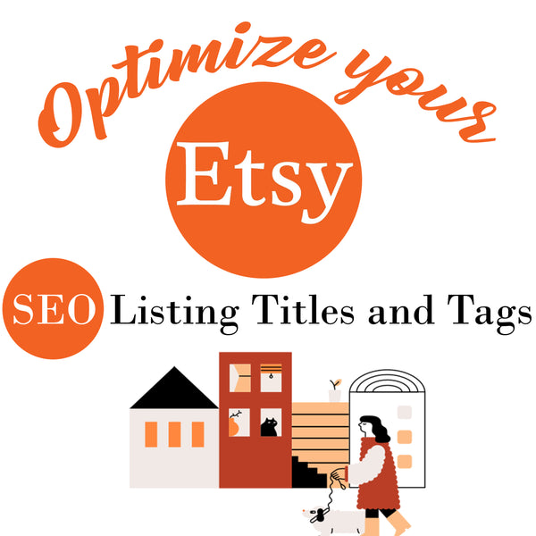 Etsy SEO 2020 | Etsy Titles and Tags Shop Optimization | Top Rated - Vintage Radar