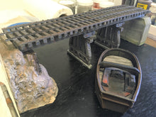Load image into Gallery viewer, #002 Lame Deer Mill Trestle 48' Kit with Abutments 1:48 O/On3/On30 Boat not Included!!!