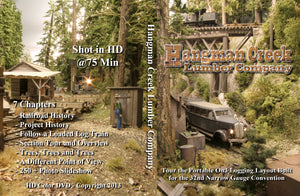 Hangman Creek Lumber Company Layout Tour DVD