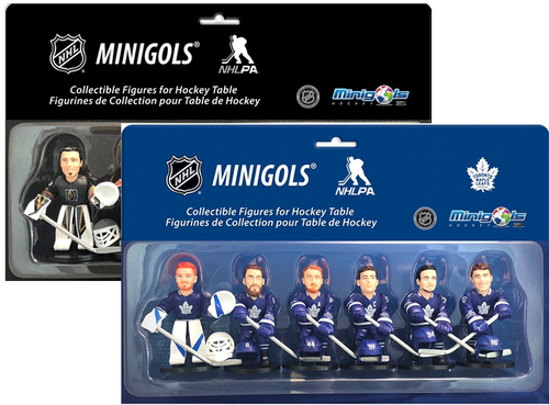 Minigols® Figurines Toronto Maple Leafs® & NHL® Stars - Multipack