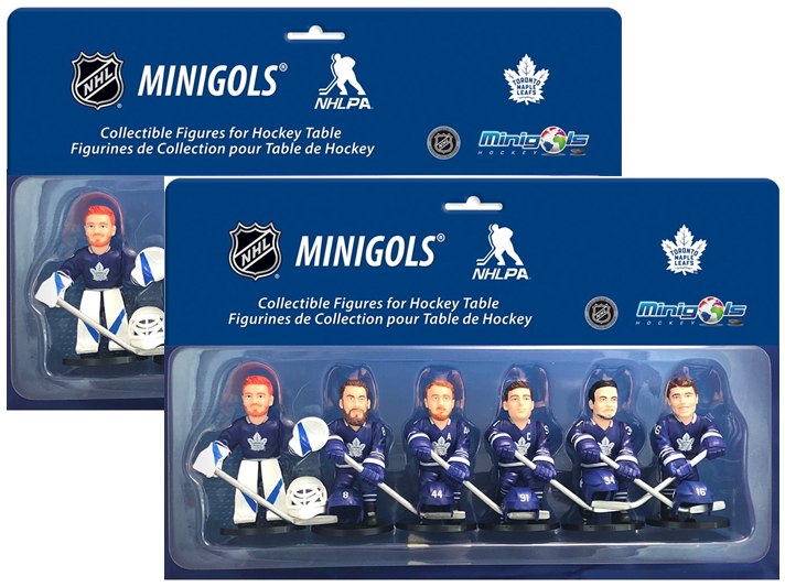 Minigols® Figurines Toronto Maple Leafs® Multipack x2
