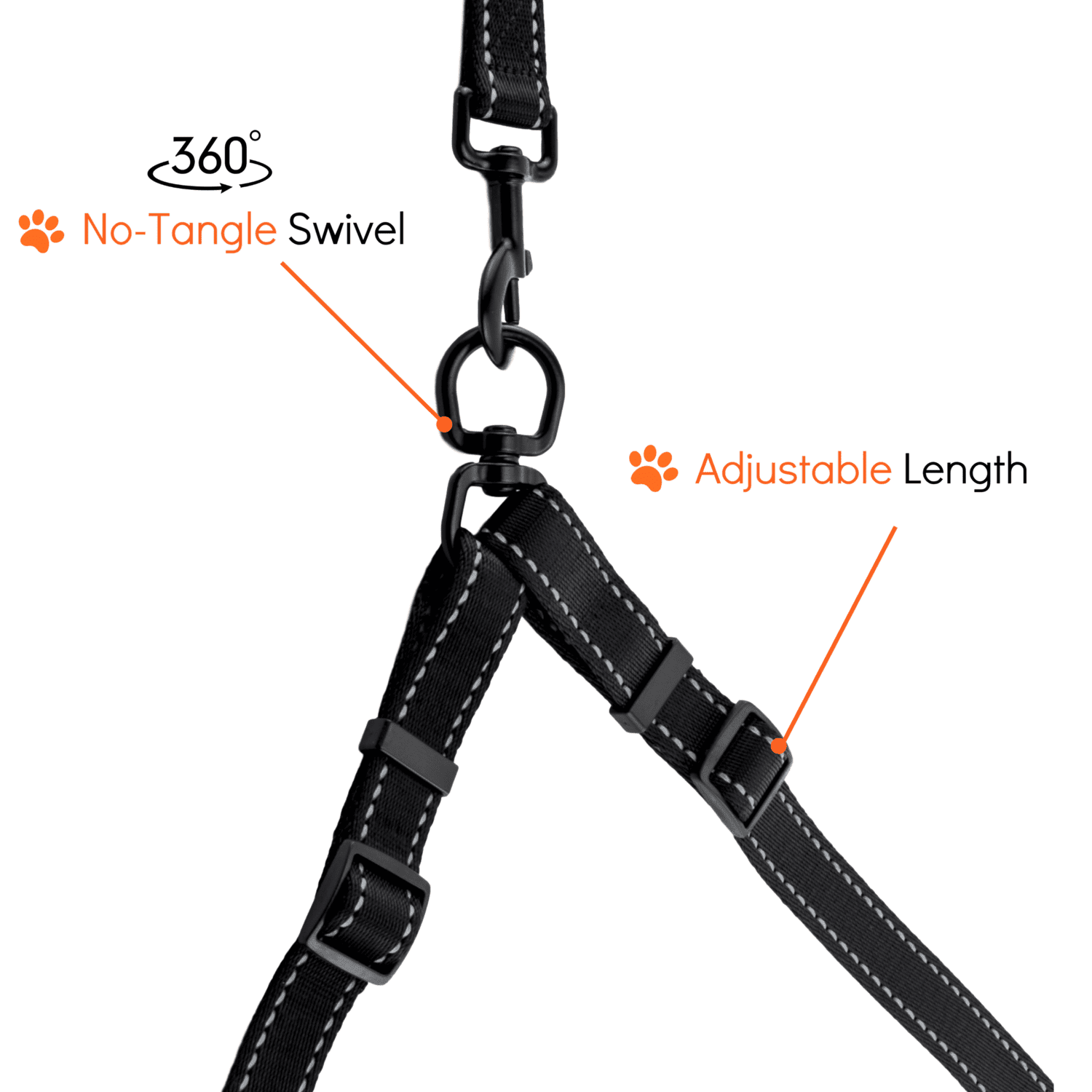 Two Dog Lead Adjustable