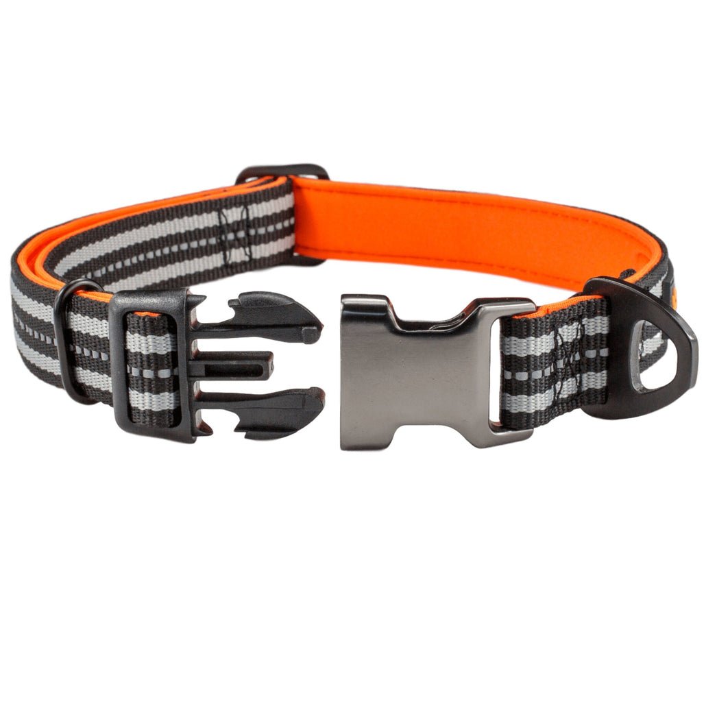 Neoprene Padded Reflective Dog Collar