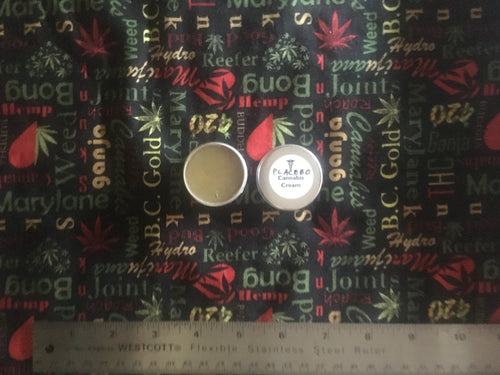 Placebo Cannabis Cream - Medium