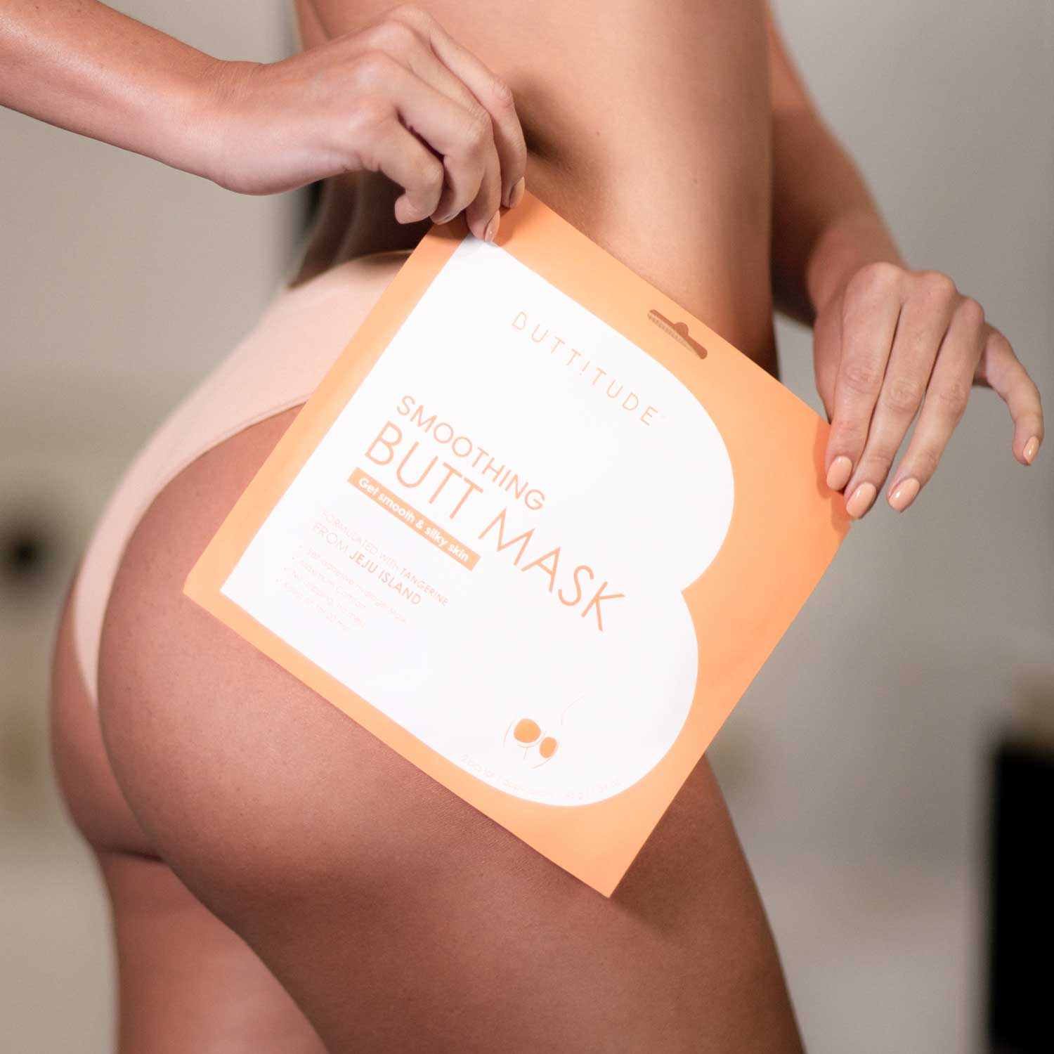 buttitude smoothing sheet mask for your butt