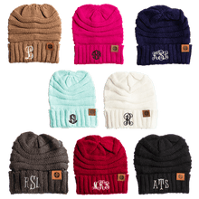 Load image into Gallery viewer, Your Initials Beanie