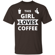 Load image into Gallery viewer, SPRING SALE This Girl Loves Coffee Shirt