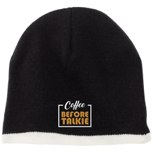 Load image into Gallery viewer, coffee before talkie 2 Beanie