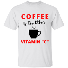 "Load image into Gallery viewer, Coffee Vitamin ""C""  T-Shirt"