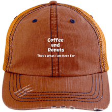 Load image into Gallery viewer, Coffee and Donuts Trucker Cap