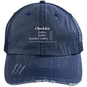 Coffee Checklist Cap