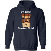 Load image into Gallery viewer, Coffee  Starter Fluid Hoodie