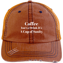 Load image into Gallery viewer, Coffee Isn't a Drink it's a Cup of Sanity Cap