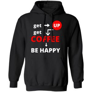 Get Up Get Coffee Hoodie