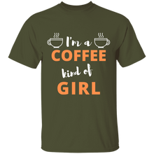 Load image into Gallery viewer, Coffee kind of girl Tee