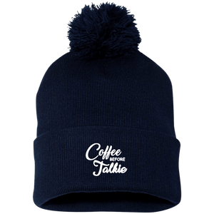 Coffee B4 Talkie Pom Pom Cap