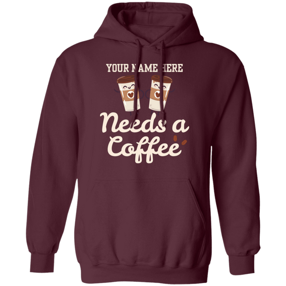 Customize Your Coffee Hoodie