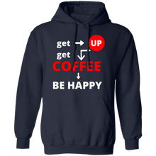 Load image into Gallery viewer, Get Up Get Coffee Hoodie