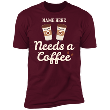 Load image into Gallery viewer, You Need a Coffee Premium T-Shirt