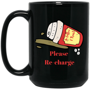 Please Re Charge Mug