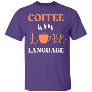 Coffee Love Language Shirt
