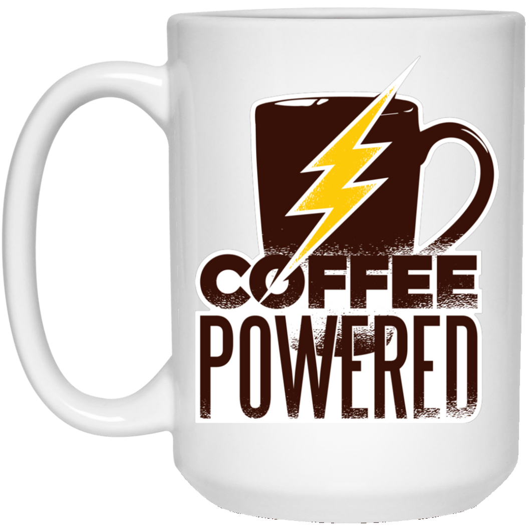 Coffee Powered  Mug