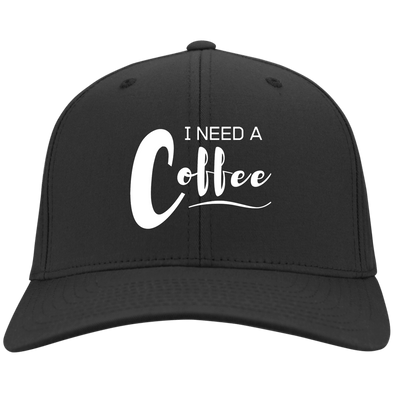 """Spring Sale"" I Need a Coffee - Flex Fit Baseball Cap"