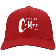 "Load image into Gallery viewer, ""Spring Sale"" I Need a Coffee - Flex Fit Baseball Cap"