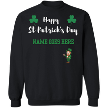 Load image into Gallery viewer, Happy St Patrick's Day  Crew Neck