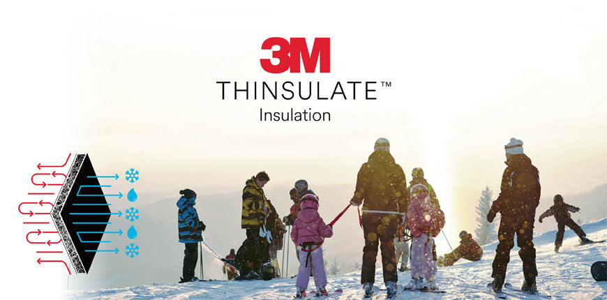 3M™ Thinsulate™ Insulation Thin and lightweight jackets