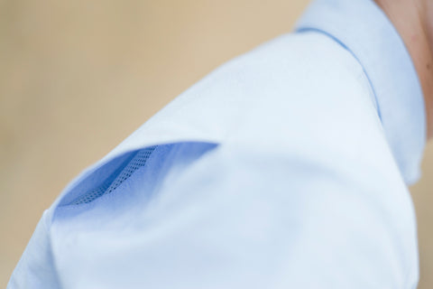 Introducing the Vanguard Shirt- View of Back Ventilation