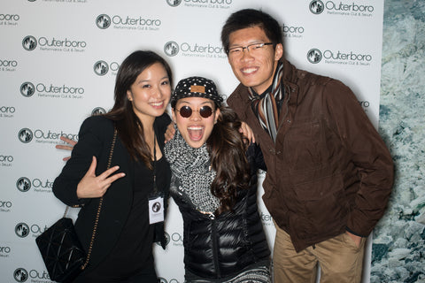 Outerboro Launch Party- Taiwanese female rapper Miss Ko show support