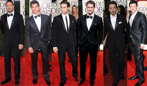How to: Dress like a Male Celebrity- Golden Globe Awards