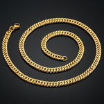 Cuban Link Necklace - wave-cheque
