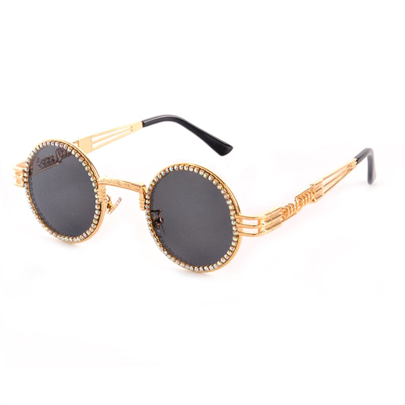 Retro Iced Out Shades - wave-cheque