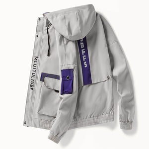 Altitude Bomber Jacket - wave-cheque