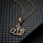 Allah Iced Out Necklace - wave-cheque